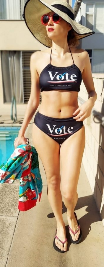 Blanca Blanco Wearing VOTE bikini 17 scaled