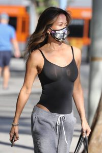 Brooke Burke Seen outside a gym in West Hollywood 02