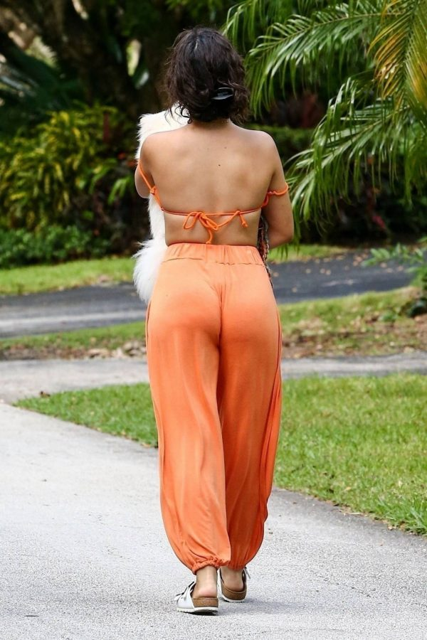 Camila Cabello Seen while she out for a walk with her dogs in Miami 05