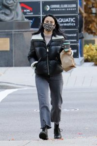 Camila Mendes Out for a coffee run in Vancouver 03