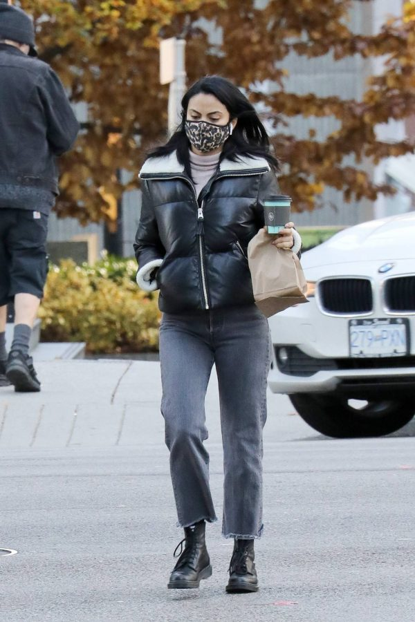 Camila Mendes Out for a coffee run in Vancouver 07