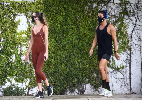 Candice Swanepoel Jogging candids in Miami 06