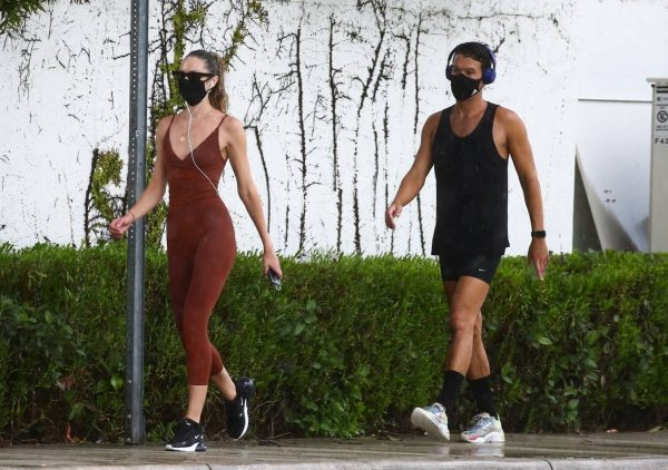 Candice Swanepoel Jogging candids in Miami 27