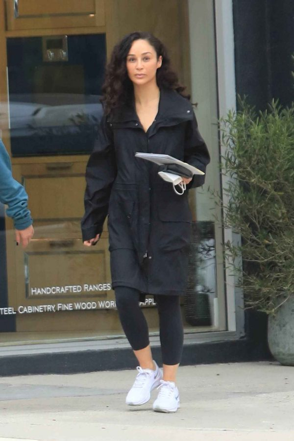 Cara Santana Running errands in West Hollywood 01