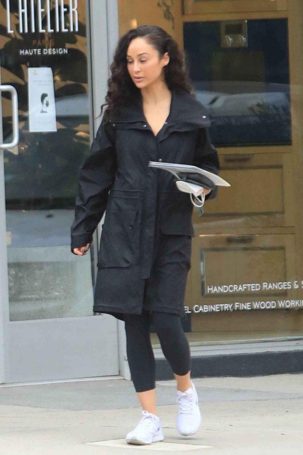 Cara Santana Running errands in West Hollywood 02