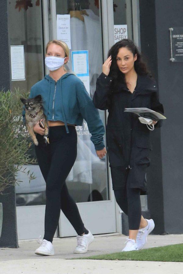Cara Santana Running errands in West Hollywood 03