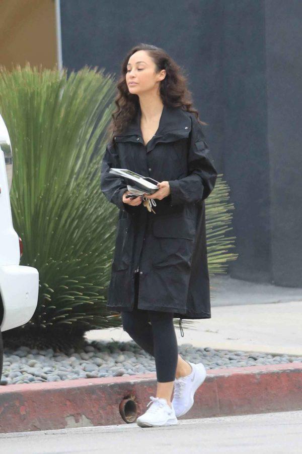 Cara Santana Running errands in West Hollywood 04