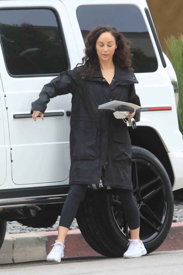 Cara Santana Running errands in West Hollywood 05