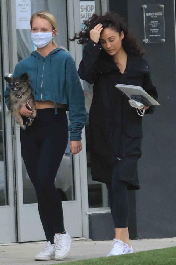 Cara Santana Running errands in West Hollywood 07
