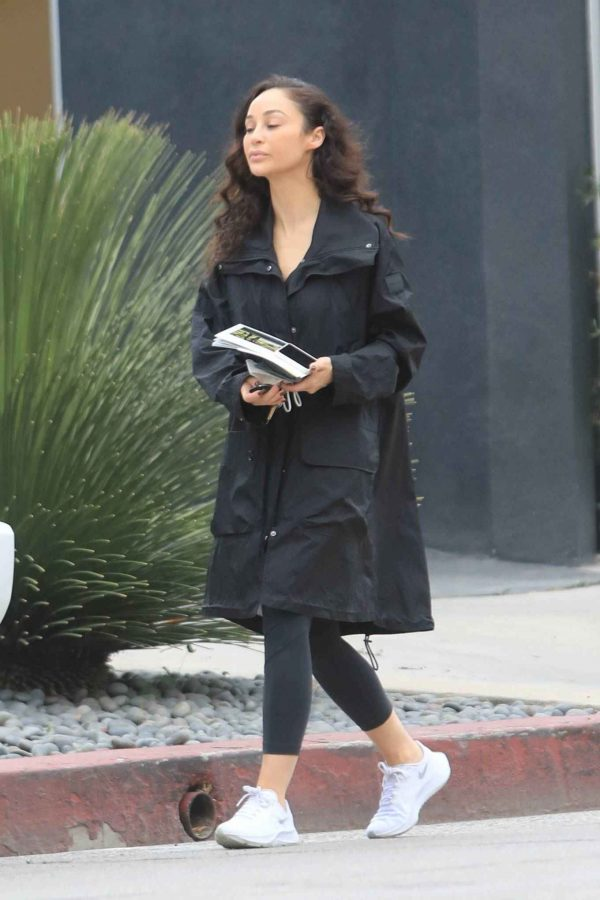 Cara Santana Running errands in West Hollywood 09