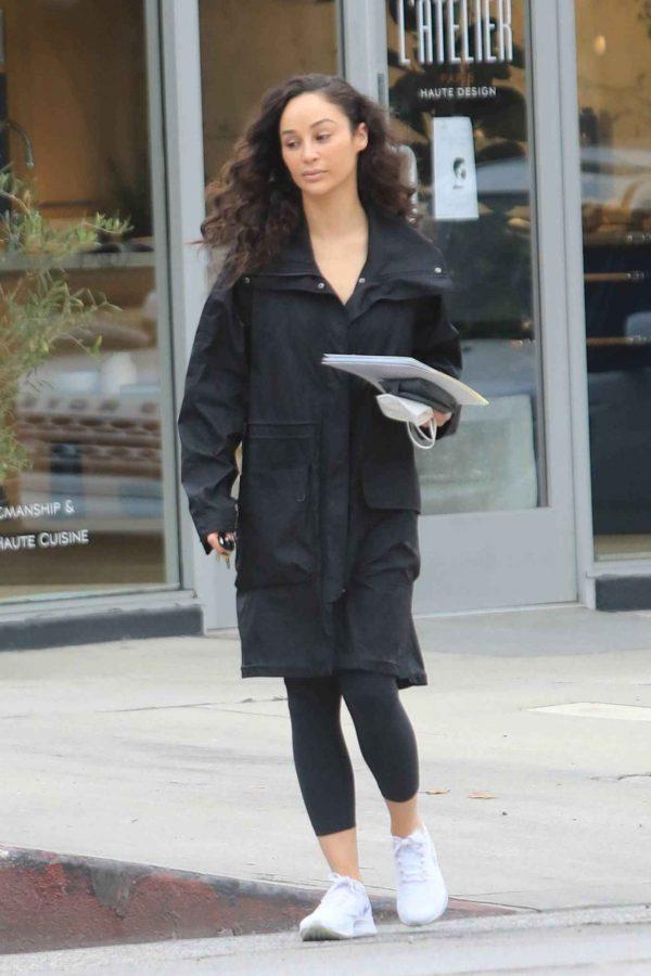 Cara Santana Running errands in West Hollywood 10