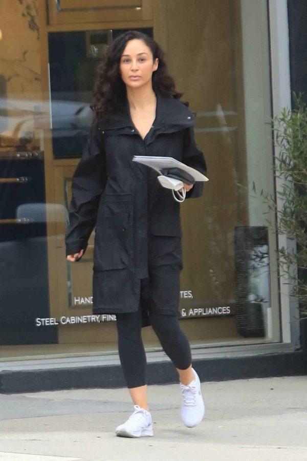 Cara Santana Running errands in West Hollywood 11