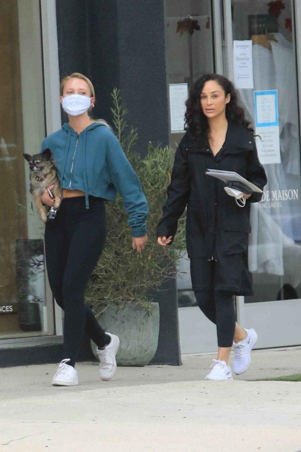 Cara Santana Running errands in West Hollywood 12