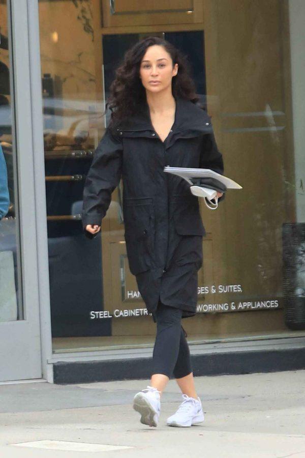 Cara Santana Running errands in West Hollywood 16