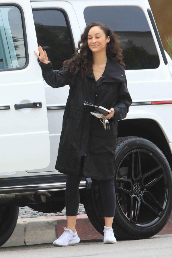 Cara Santana Running errands in West Hollywood 17