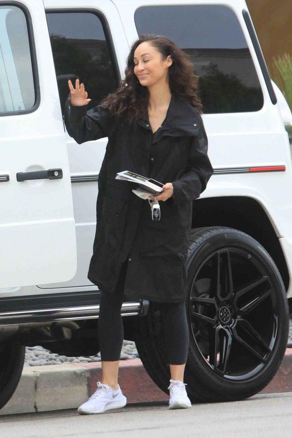 Cara Santana Running errands in West Hollywood 18