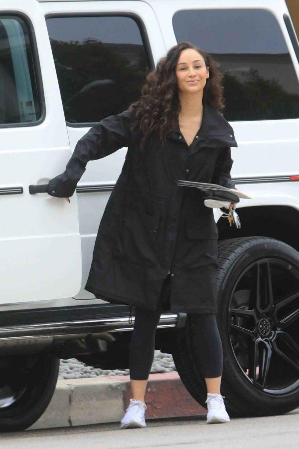Cara Santana Running errands in West Hollywood 21