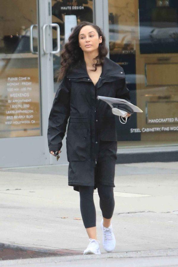 Cara Santana Running errands in West Hollywood 22