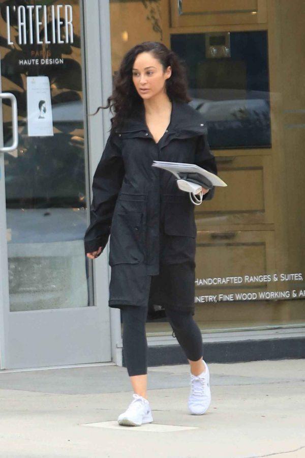 Cara Santana Running errands in West Hollywood 23