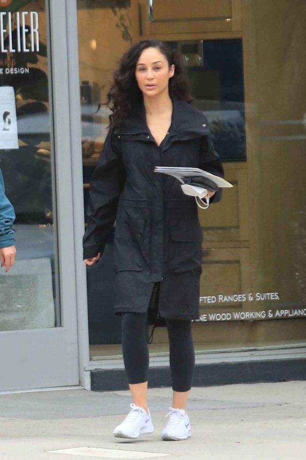 Cara Santana Running errands in West Hollywood 26