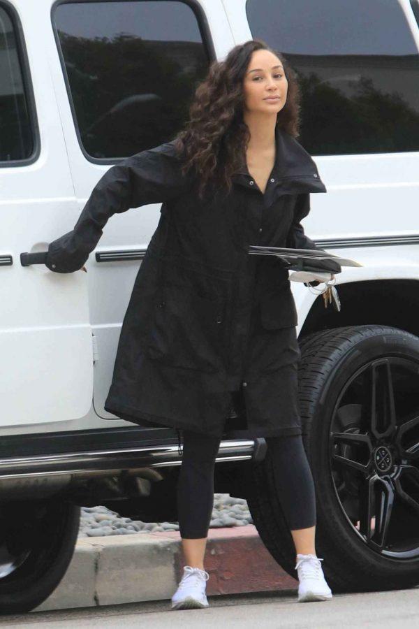 Cara Santana Running errands in West Hollywood 28