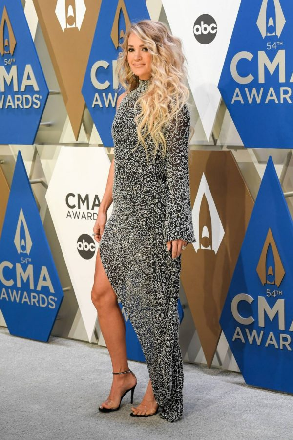 Carrie Underwood 2020 CMA Awards in Nashville 03