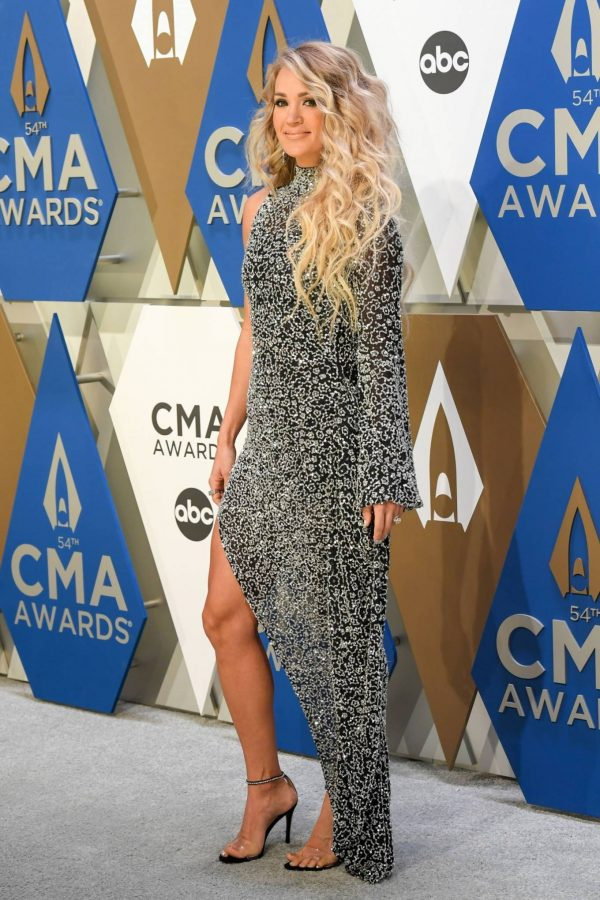 Carrie Underwood 2020 CMA Awards in Nashville 11