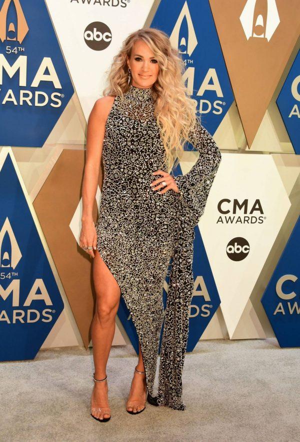 Carrie Underwood 2020 CMA Awards in Nashville 14