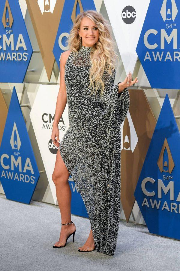 Carrie Underwood 2020 CMA Awards in Nashville 20