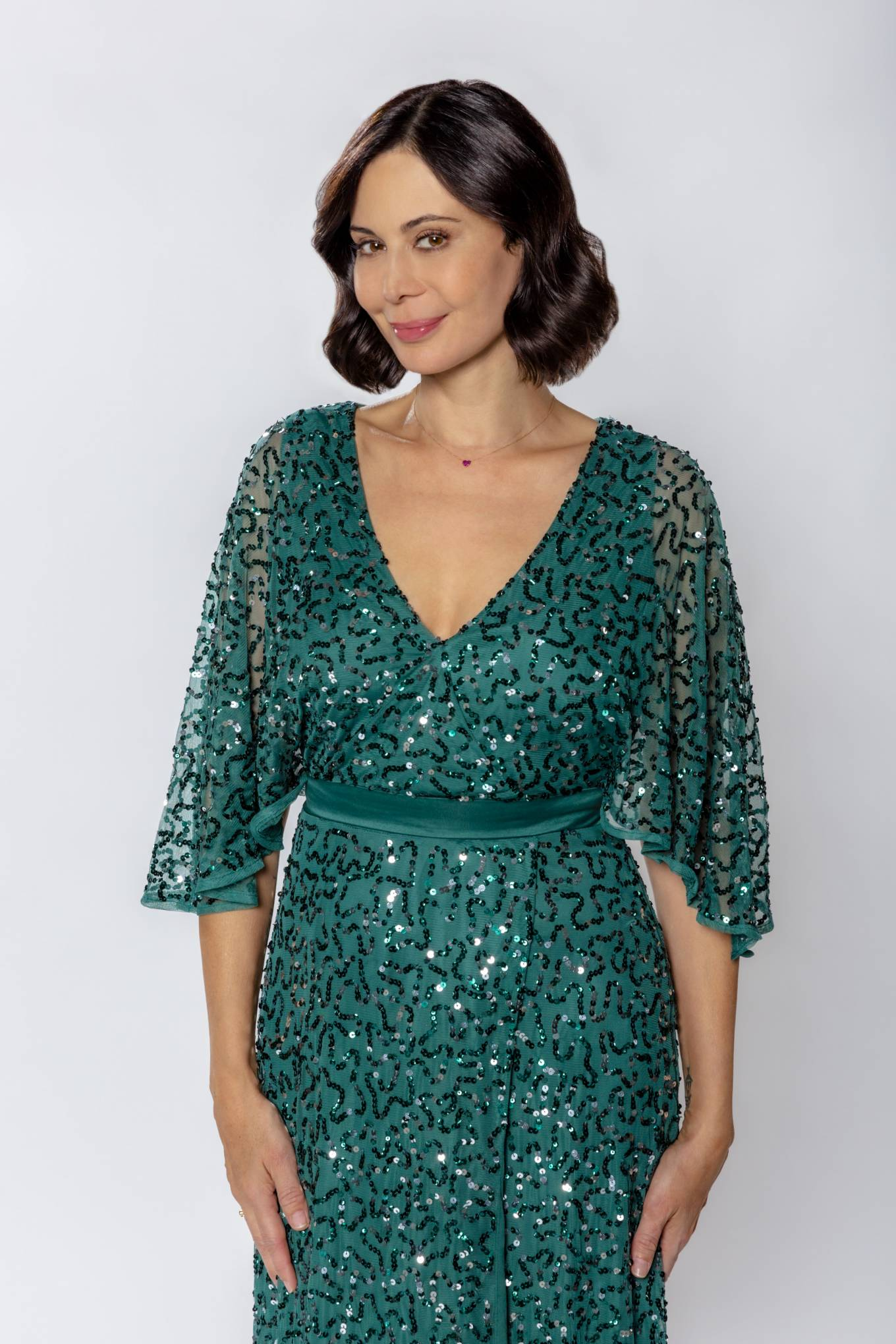 Catherine Bell Meet Me at Christmas 2020 Poster Promo Stills 12