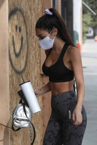 Chantel Jeffries Out for a workout in West Hollywood 08