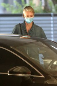 Charlize Theron Visits the hospital in Los Angeles 02