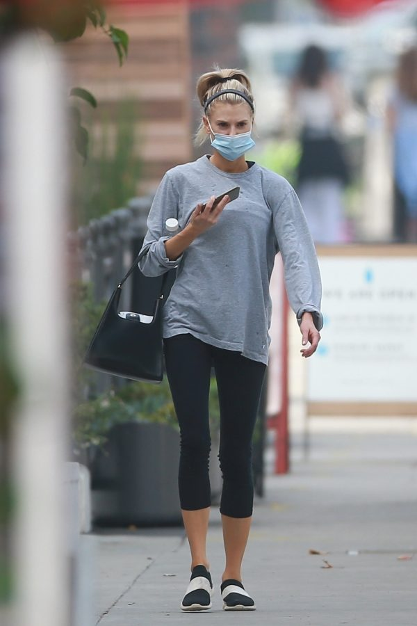 Charlotte McKinney Seen on the streets of Los Angeles 16
