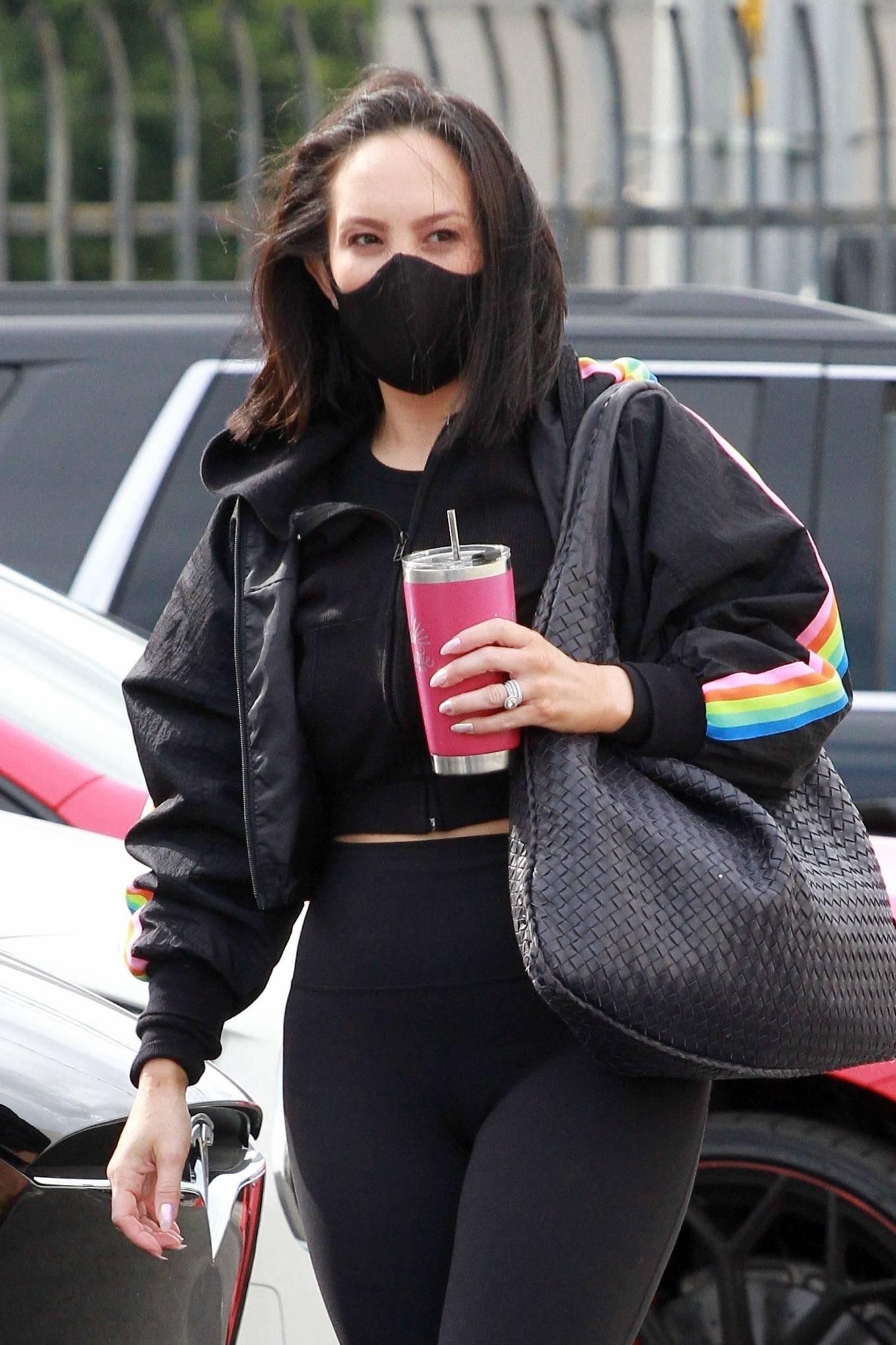 Cheryl Burke Seen arriving for practice at the dance studio in Los Angeles 19