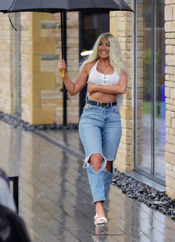 Chloe Ferry out in Newcastle 01