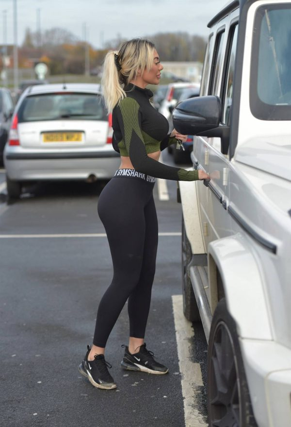 Chloe Ferry out in Newcastle 03 1