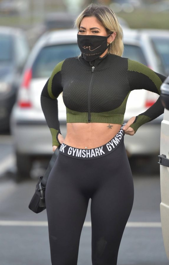 Chloe Ferry out in Newcastle 04 1