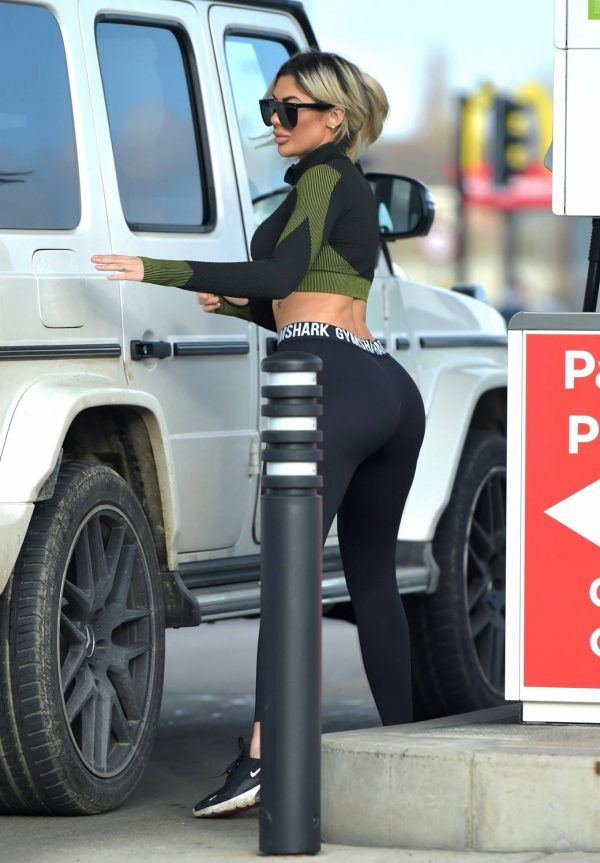 Chloe Ferry out in Newcastle 06 1