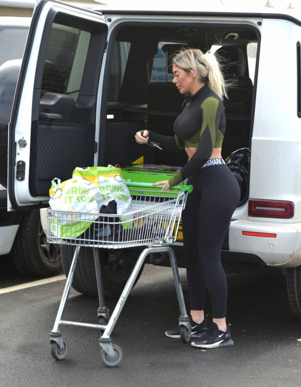 Chloe Ferry out in Newcastle 09 1