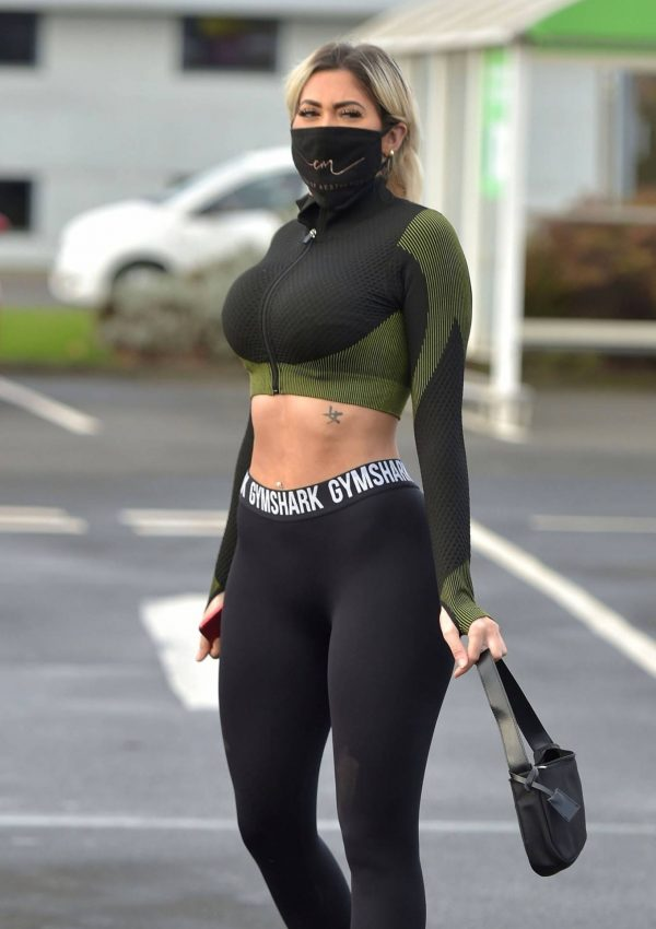 Chloe Ferry out in Newcastle 14 1