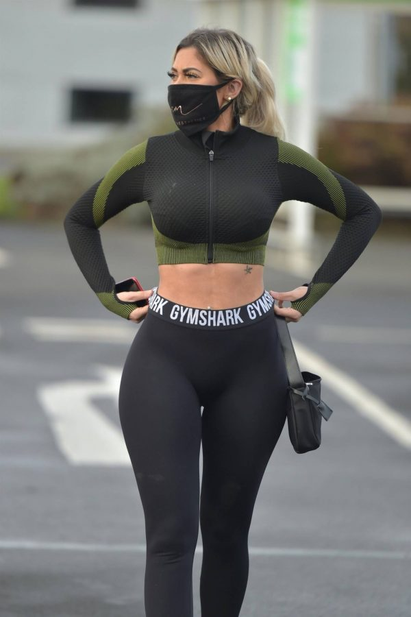 Chloe Ferry out in Newcastle 16 1