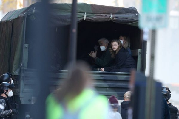 Chloe Grace Moretz Filming Sci Fi film Mother Android in Boston 06