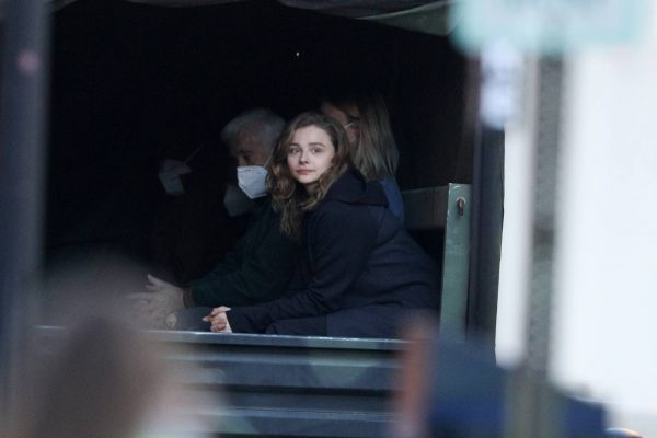 Chloe Grace Moretz Filming Sci Fi film Mother Android in Boston 11