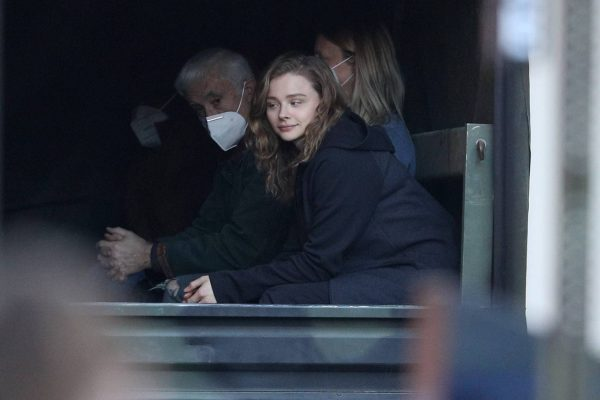 Chloe Grace Moretz Filming Sci Fi film Mother Android in Boston 12