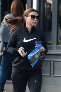 Coleen Rooney Spotted at Cafe Nero in Alderley Edge in Cheshire 05