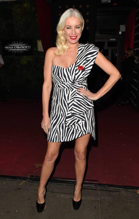 Denise Van Outen Denise Van Outens Cabaret Show at Proud Embankment in London 16