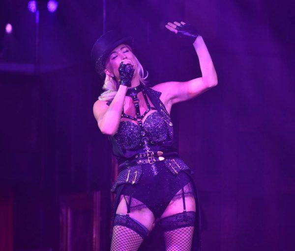 Denise Van Outen Denise Van Outens Cabaret Show at Proud Embankment in London 17