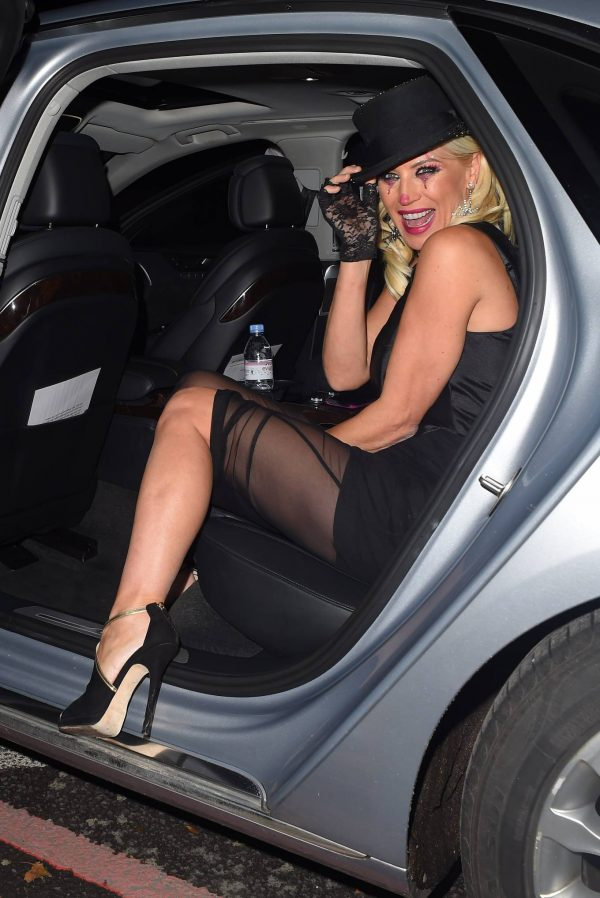 Denise Van Outen Seen at Proud Embankment Club 12