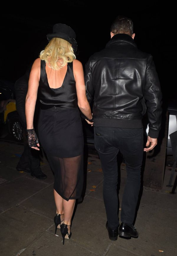 Denise Van Outen Seen at Proud Embankment Club 14