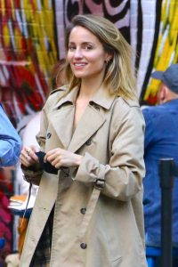 Dianna Agron Spotted with a friend in NYC 01
